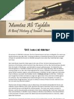 13th Imam - al-Mansur - by Mumtaz Ali Tajddin
