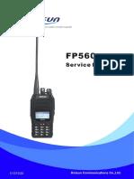 Kirisun FP560-Service-Manual-20151030