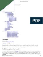 Ipotecă _ Dictionar Juridic (Dex)