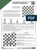 Ejercicios de ajedrez