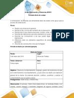 Anexo 1 -Diario de campo