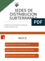 Red de Distribucion Subterranea