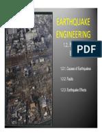 Earthquake Eng_g. - Nature of Earthquakes