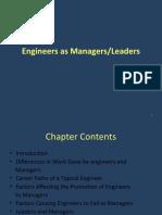 Engineers as Managers & Leaders