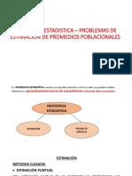 TEMA 1 TEORIA Estimacion - Promedios poblacionales