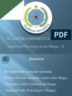 Psicologia na Magia II