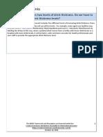 Preguntas frecuentes al marco de la IDDSI