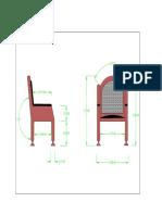 Diseño Silla Autocad 2d