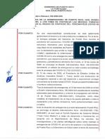 OE-2020-033   Establece el toque de queda en Puerto Rico