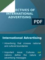 International Advertising Planning