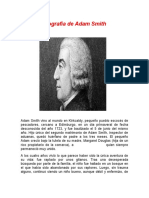 Biografia de Adam Smith