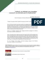 Gómez, J. (2010). Pedagogía intercultural. Un eufemismo para tranquilizar conciencias o una alternativa para la transformación.pdf