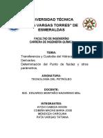 UNIVERSIDAD TÉCNICA PETROLEO