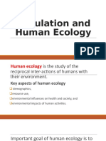 Population-and-Human-Ecology