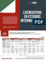 Licenciatura en Estudios Internacionales