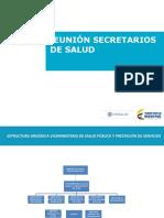 SALUD PÚBLICA Y PRESTACIÓN DE SERVICIOS