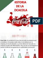 HISTORIA DE LA  COCACOLA