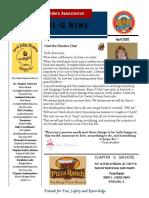 chapter g newsletter april 2020