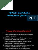 Prinsip Manajemen Workshop (Bengkel)