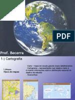Projecoes cartogrficas
