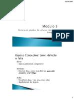 Modulo 3 Clase 1 Técnicas de pruebas de software Unitarias e Integración