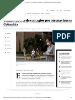 Casos coronavirus en Colombia hoy domingo 12 de abril de 2020 _ Economía _ Portafolio