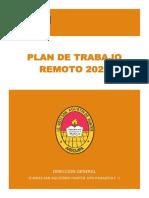Plan de Trabajo Remoto IE 40033 SAH Djqt