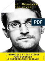 eBook Edward Snowden Memoires Vives