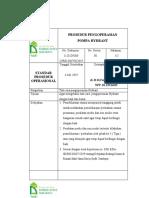 Prosedur Pengoperasian Hydrant System