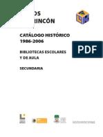 Libros Del Rincon Catalogo 86-06