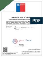 certificado gerth 3°ro