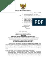 Surat Edaran Bupati Manggarai Barat - COVID-19