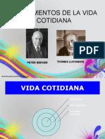 FUNDAMENTOS DE LA VIDA COTIDIANA