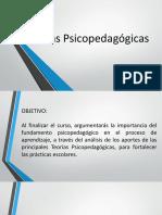 Teorias psicopedagógicas de la práctica a la escuela.