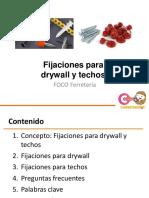 5. Fijaciones para drywall y techos Nuevo formato