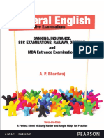 A.P. Bhardwaj - General English for Competitive Examinations Banking Insurance SSC Exam Railway Defence & MBA Entrance Exam-Pearson Education (2013).pdf