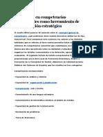 Formación en competencias transversales como herramienta de diferenciación estratégica