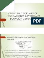 4. CAPACIDAD DE CARGA EC. GRAL
