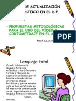 ESTRATEGIAS USO VIDEO Y CORTOMETRAJE EN EL AULA