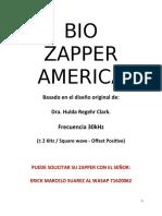 07 a Uso Del Zapper America Manual