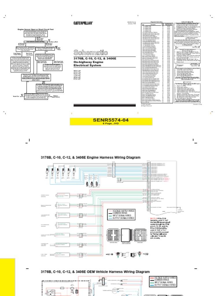 Caterpillar 3126 Fuel System Diagram - Diagram Schematic