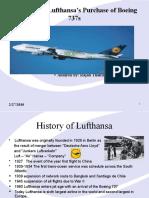 Lufthansa hedging alternatives