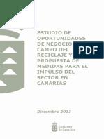 Estudio Oportunidades Negocio Sector Reciclaje