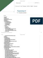 R Programming - Manuals