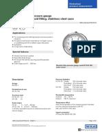 Catalogue gauge