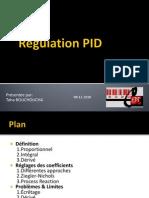 Régulation PID