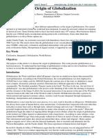 origin of globalisation.pdf