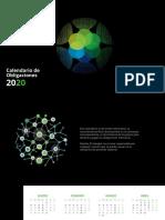Calendario de Obligaciones 2020