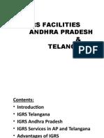 IGRS in AP and Telangana