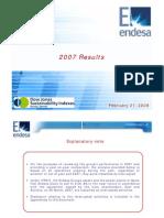 Endesa+Resultados+2007+Eng